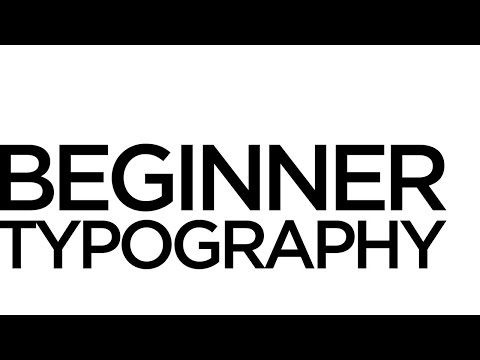 Graphic Design Tutorials: (Really) Basic typography