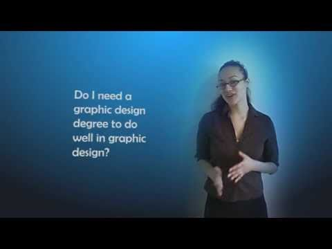 Do you need a graphic design degree to make it as a graphic designer?