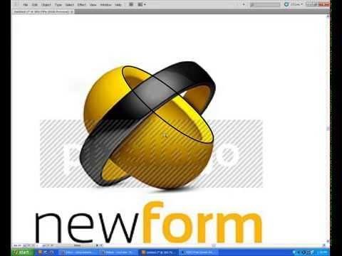 Adobe Illustrator 3D Logo Design Tutorials cs5