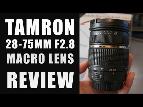 Tamron 28-75 F2.8 Lens Review | Canon DSLR