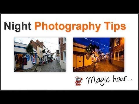 Photography Tips – Night Shooting Christmas Street Decorations