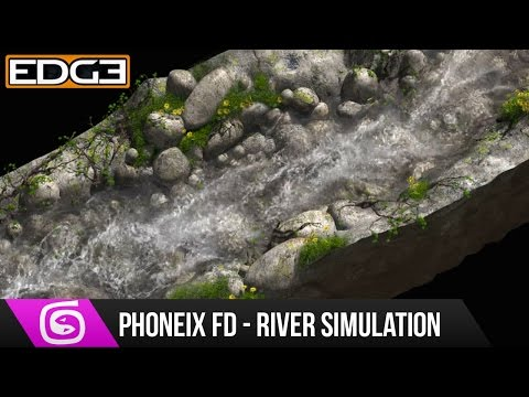#2 3Ds Max & Phoneix FD Tutorial – River Simulation Compositing in Nuke
