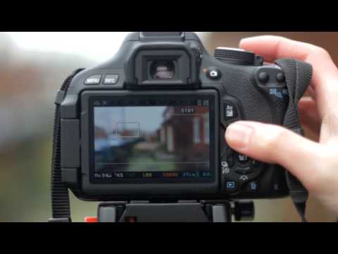 DSLR Basic aperture tutorial