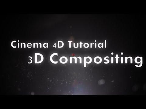 Cinema 4D Tutorial : 3D External Compositing