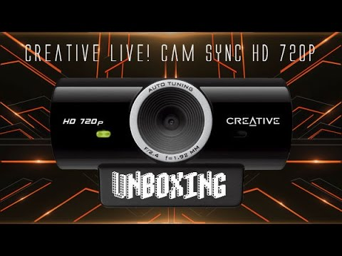 Unboxing: Creative Live! Cam Sync HD 720p -Facecam