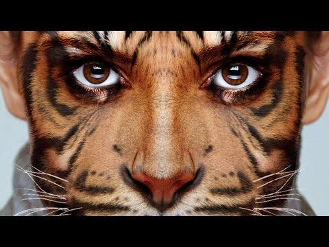 Photoshop: Transform Yourself into an Animal!