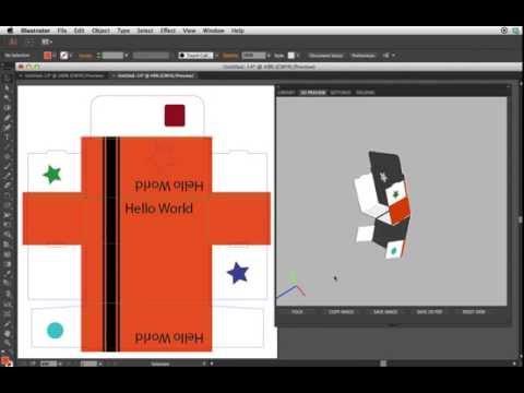 How to do Animated Box Folding in Adobe illustrator