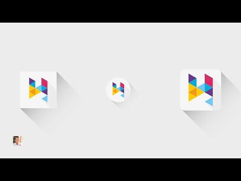 [TUTO] Create Flat Long Shadow #2 | Adobe Illustrator | 720p HD