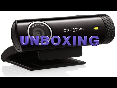 Creative LIVE! CAM CHAT 720 HD – UNBOXING