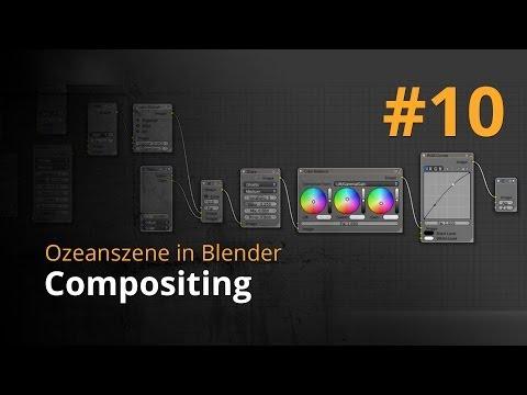 Ozeanszene in Blender #10 – Compositing