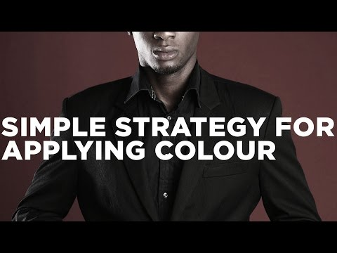 Graphic Design Tutorial: Simple strategy for applying colour