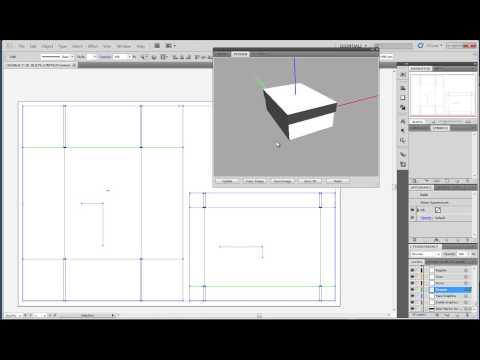 Folding a two piece box