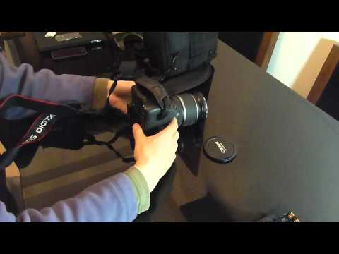 Canon 550D T2i Lens vs Panasonic vs iPhone 4 indoor low light video test plus accessories Review