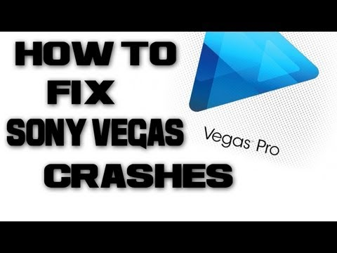 How to Fix Sony Vegas Crashes/Sony Vegas Blue Screen Of Death Fix