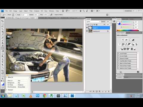 long exposure shot photoshop editing – A quick tutorial