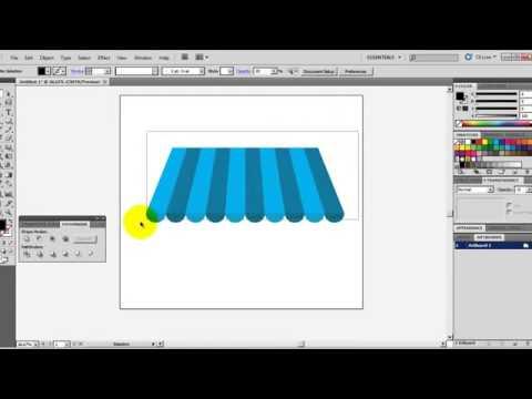 Adobe illustrator cs5 Tente Yapımı