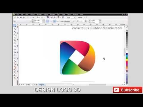 Create a logo for a new company in 5 minutes – Corel Draw tutorials