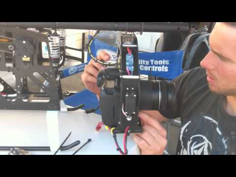 Chris Cloutier of f-Stop Aerial Media RC Helicopter –  Canon 7D