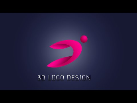 How to make 3D Logo Design People | Photoshop Tutorial