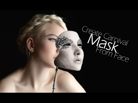 Create amazing carnival mask from face | Photo manipulation tutorial | Photoshop tutorial