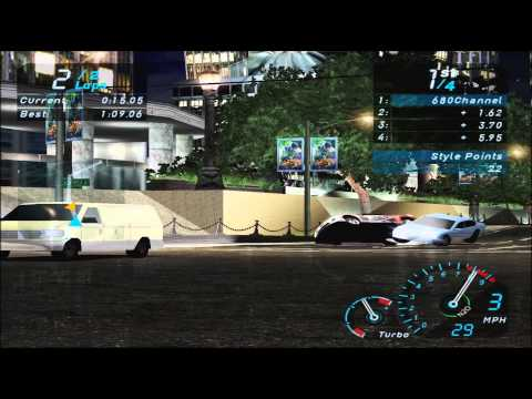 Need For Speed Underground – Gameplay PC HD