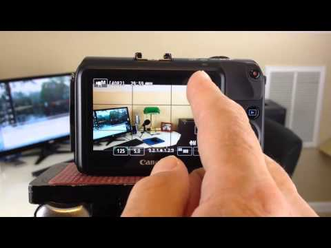 Canon EOS M Mirrorless Digital DSLR Camera Tutorial for Making Great Video!