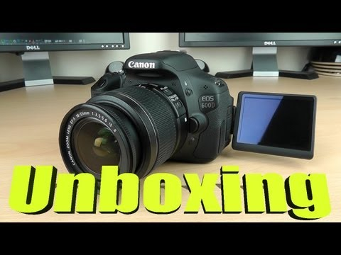 Canon 600D DSLR Unboxing and First Look (July 2013)