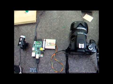 Raspberry Pi Controlled Canon DSLR – Motion Detect