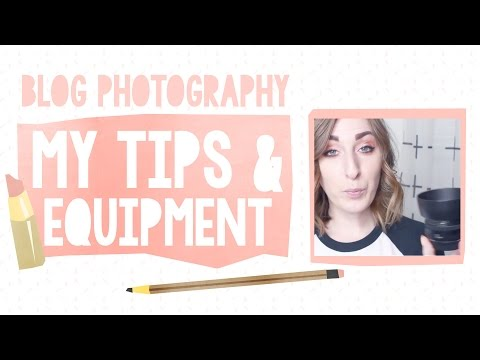 Blog Photography: My Tips and Equipment (plus 50mm vs. 28mm lens demo!)