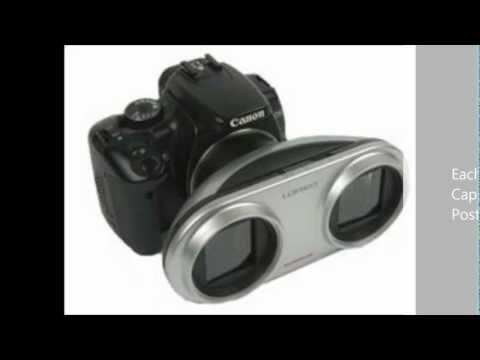 Review of 3D Lens for Canon DSLR
