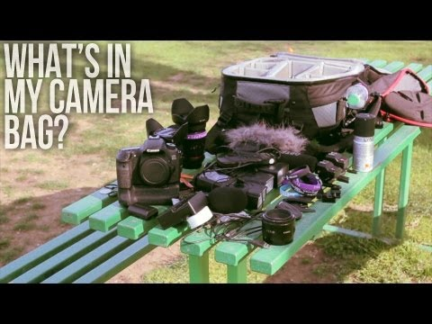 What's in My Camera Bag? Canon DSLR