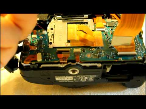 Opening the Canon T2i – Back Cover Removal (Inside the Canon 550D EOS DSLR)