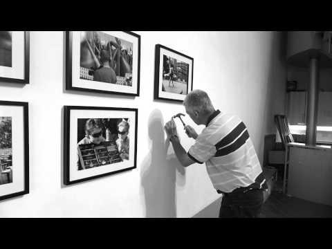 Irish Street Photography Exhibition 2014 – Set up
