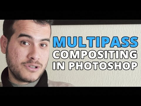 Multipass Compositing in Photoshop – Vray Render Elements