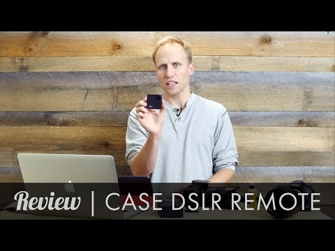 Case DSLR Remote,  Wifi control of your DSLR
