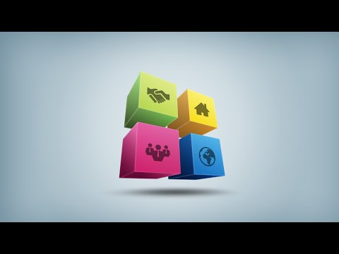 3D Logo Info Graphic Design | Photoshop Illustrator Tutorial