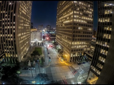 Long Exposure Night Lapse GoPro Hero4 Black ~ Houston, Texas