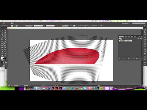 Warping a Pattern in Illustrator CS6/CC