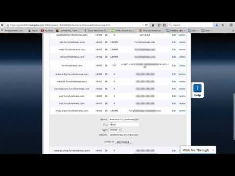 How To Setup Shopify Store on Subdomain