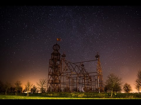 second starlapse shot with nikon d3300 long exposure