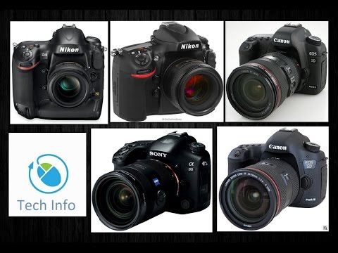 Best 5 professional DSLR camera 2015