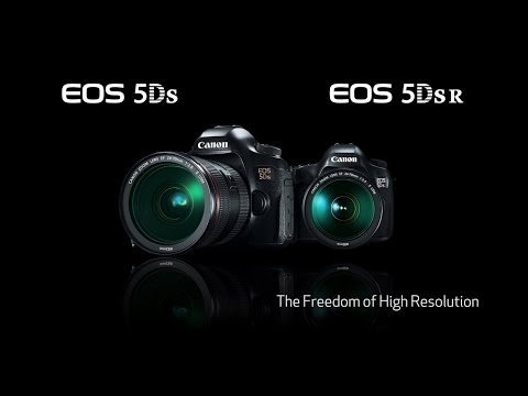 Canon EOS 5DS and 5DS R DSLR Cameras – The Freedom of High Resolution