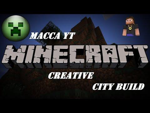 Minecraft – Creative Live – PS4 – City Build – The Stadium Part 1 – #1