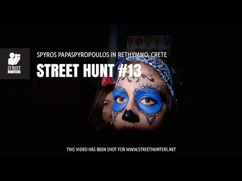 Flash Street Photography – Street Hunt #13. Spyros Papaspyropoulos in Rethymno, Crete, Greece