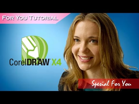 coreldraw tutorials X4 – Preparing a logo for sign cutting