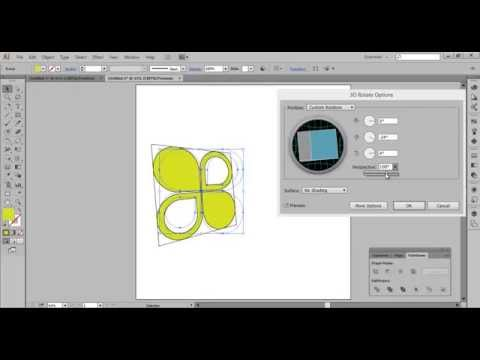Adobe Illustrator CC Tutorial: How To Design 3D Logo – Sample 2 [HD]