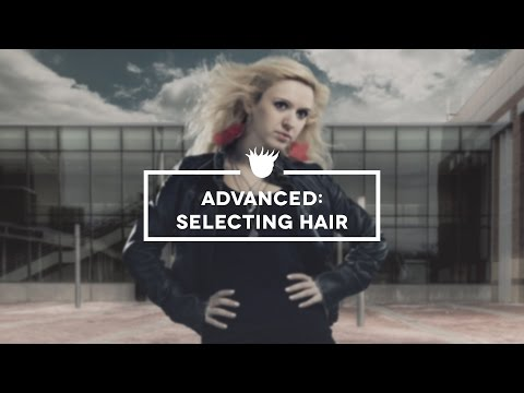 Photoshop CC Tutorial – Advanced: How to Select Hair