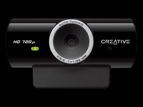 Creative Live! Cam Sync HD 720p Video Test