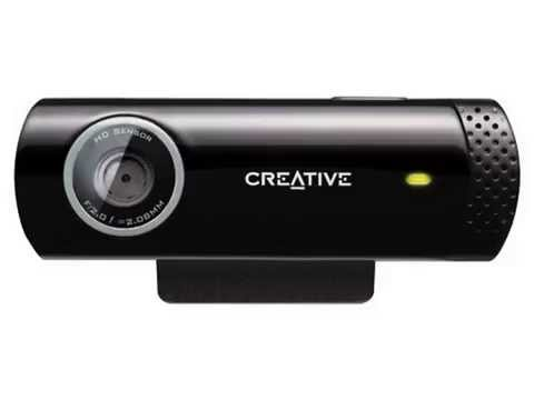 Top Creative Live! Cam Chat HD, 5.7MP Webcam (Black) (Top List)