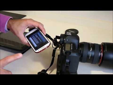 Conexion tablet a Canon 5D MARK III mediante Dslr controller en Español